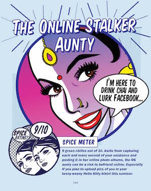The Online Stalker Aunty