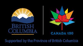 British Columbia/Canada 150 Logo