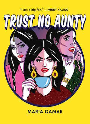 Trust No Aunty - Book Cover