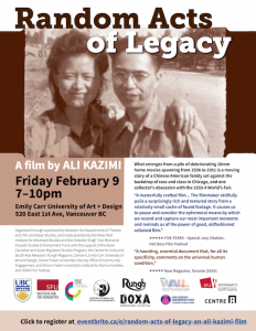 Random Acts of Legacy Film Event