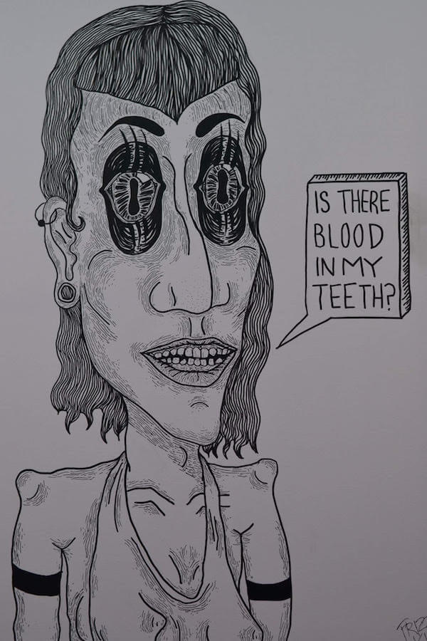 """Do I Have Blood in my Teeth"" by Hana Shafi"