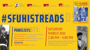 #SFUHISTREADS Public Book Club
