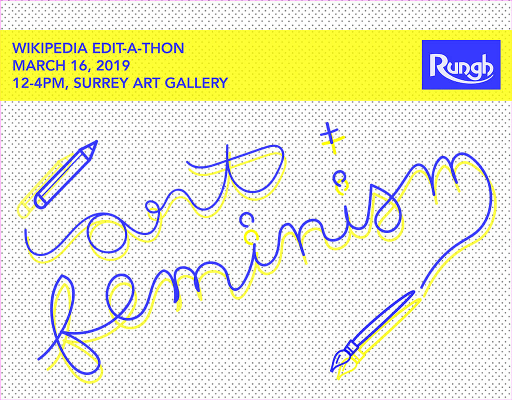 Art and Feminism - Wikipedia Edit-a-thon