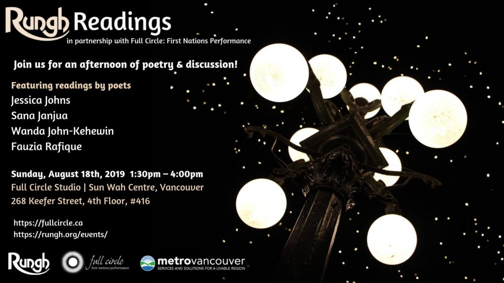 Rungh Readings with Full Circle First Nations Performance