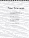 """River Relations"" by Sadhu Binning"