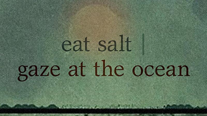 eat sail / gaze at the ocean