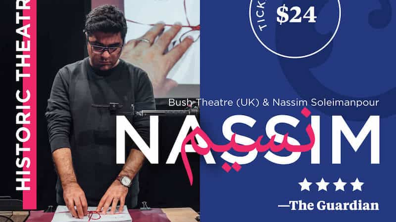 NASSIM: Bush Theatre (UK) and Nassim Soleimanpour