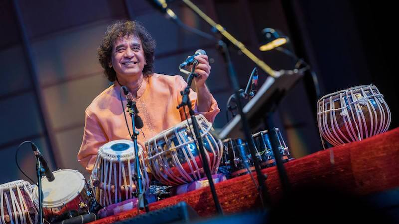Crosscurrents and Collaborations with Zakir Hussain
