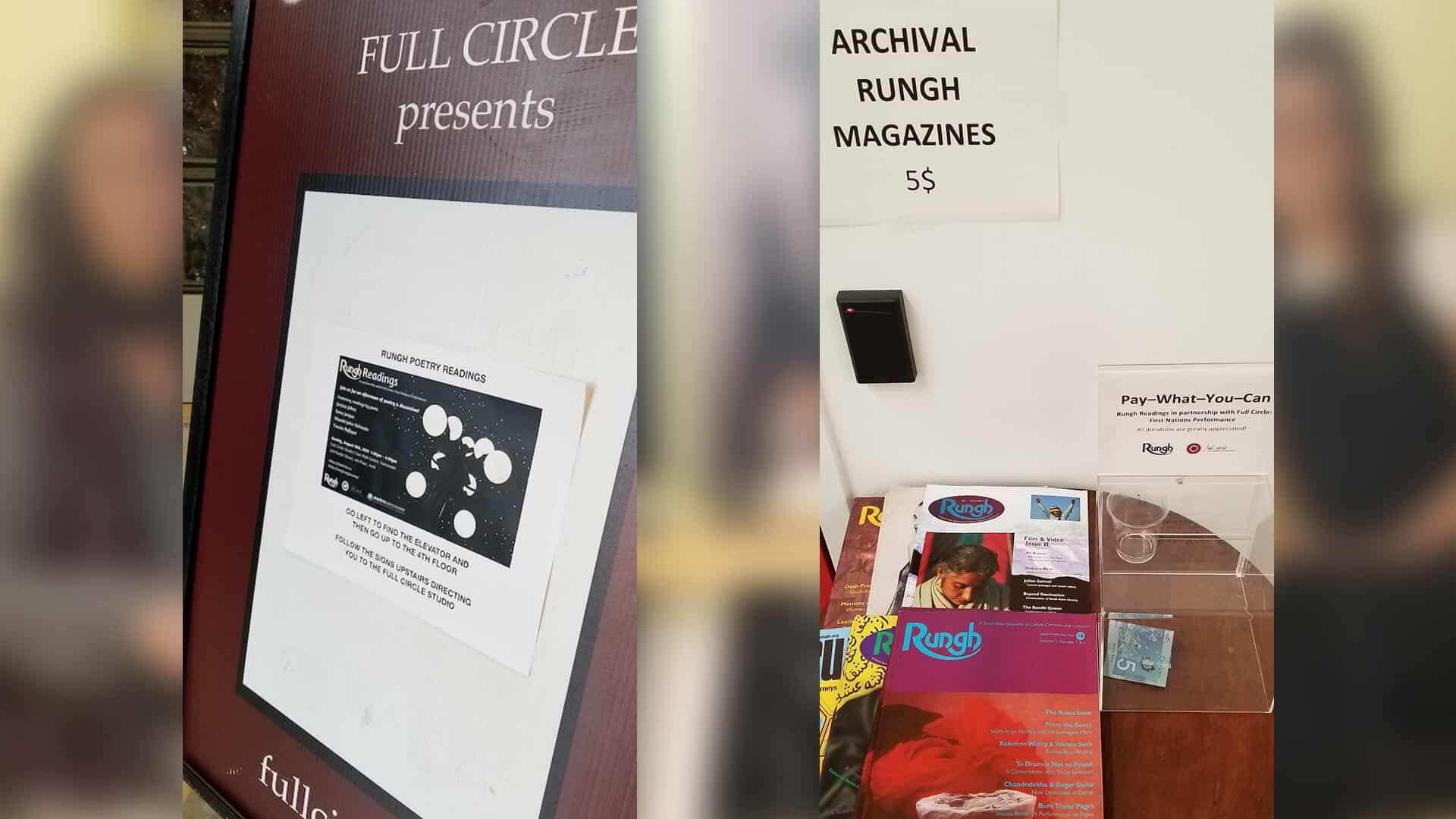 Rungh Readings at Full Circle: First Nations Performance 6