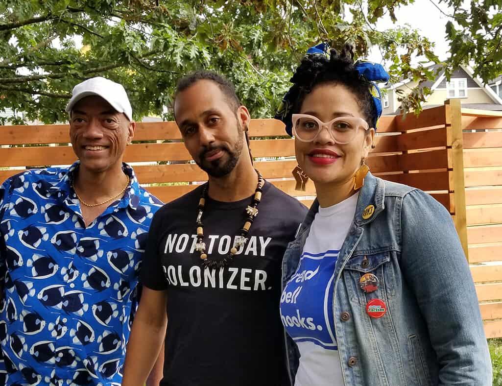 Summer Block Party at Hogan's Alley Group Photo