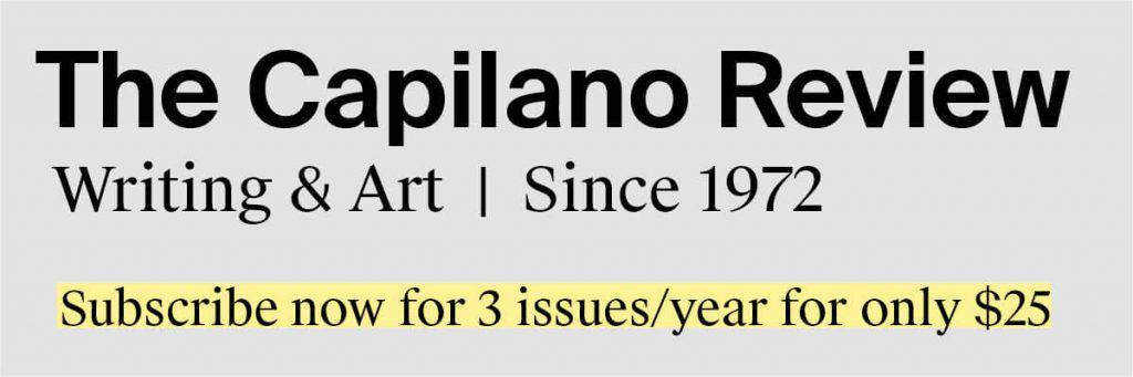 Capilano Review Ad