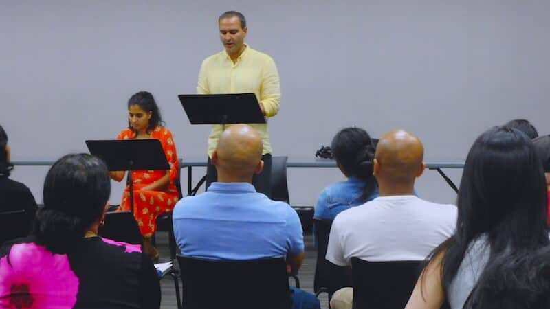 Munish Sharma at Monsoon Festival 2018, Chivalry is Dead reading