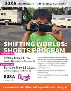 DOXA-Shifting Worlds: Shorts Program Poster 2