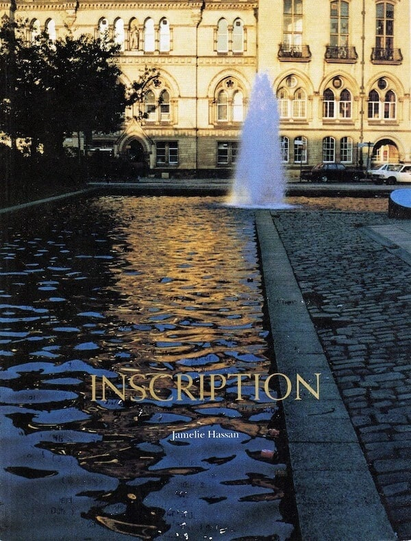 Book cover of Inscription, by Jamelle Hassan