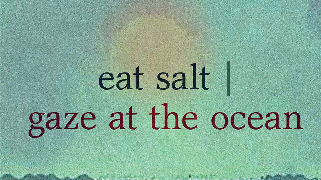 eat salt | gaze at the ocean