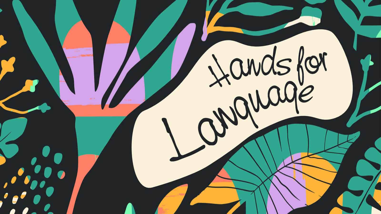 Hands for Language - Book Cover