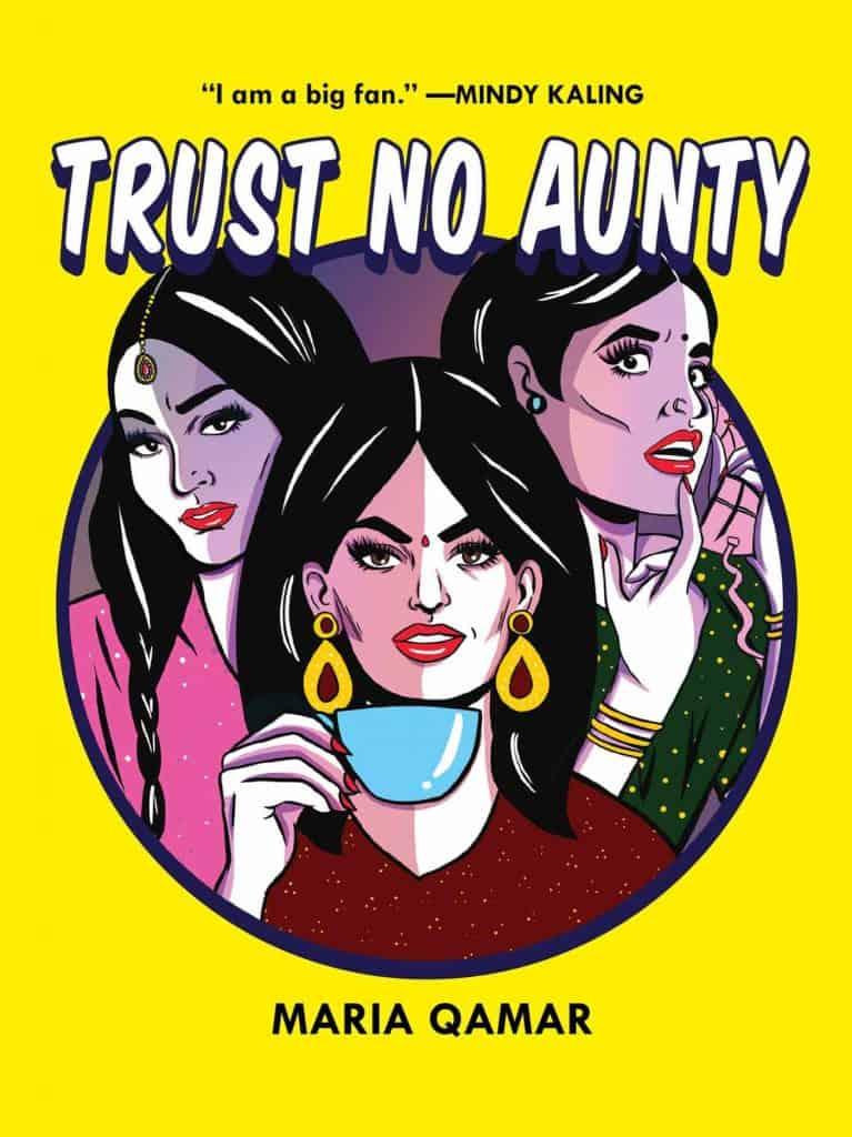 Trust No Aunty - Book Cover