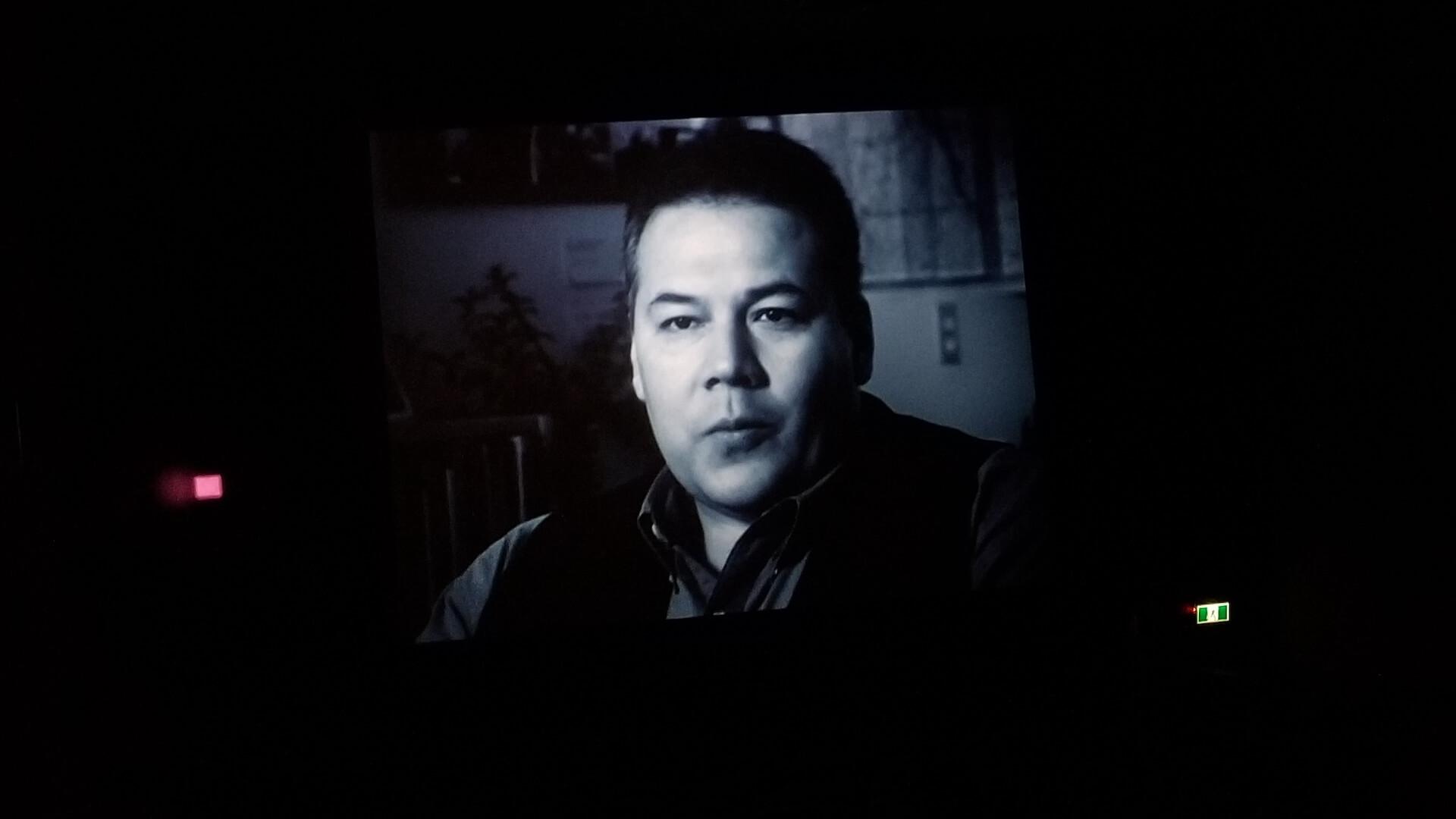 Jeffrey Thomas, screening shot