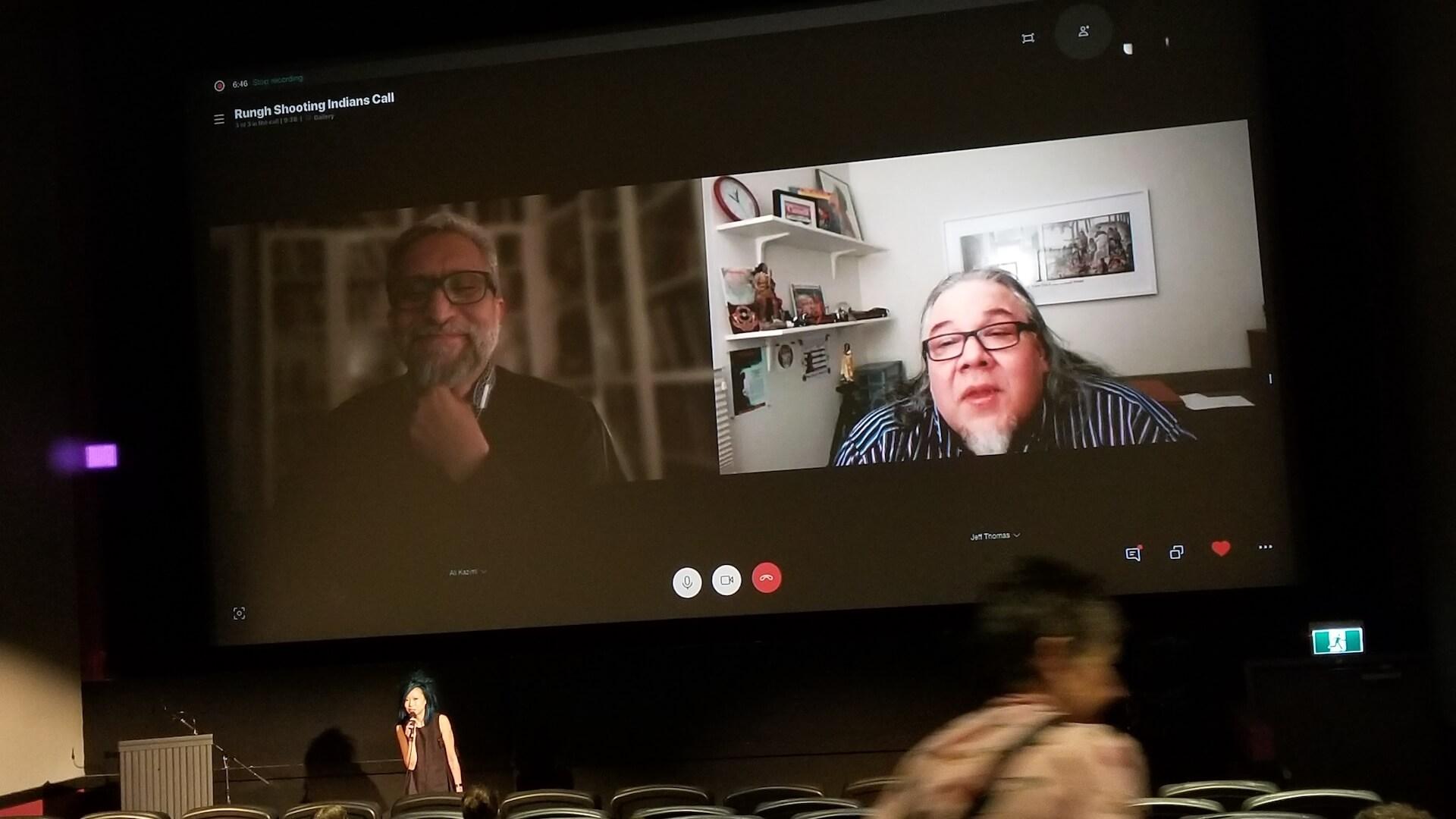 Ali Kazimi and Jeffrey Thomas, Skype interview